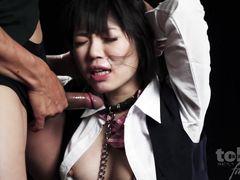 Порно шоу с мужским доминированием при участии японской топ модели