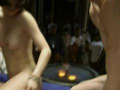 """Полнометражный фильм """"Величайший Gang Bang"""" с японской шлюшкой"""