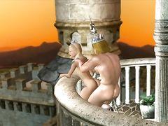 """Пародийный 3D секс мультик """"Алиса в стране чудес ХХХ"""""""