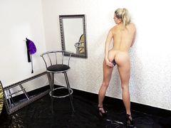 Домашний анальный секс от 1 лица с белокурой красивой немкой