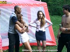 Пикник студентов курского вуза закончился страстной оргией