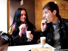 Болтливый парень Андрей познакомился для секса с русской красоткой Машей