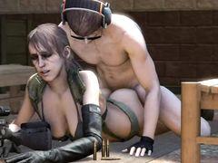 """Герои отпадной игрушки """"Metal Gear Solid"""" устроили секс оргию"""