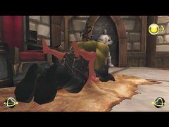 Темные эльфийки из World of Warcraft ублажают злого орка