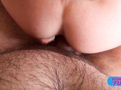 Бесподобная брюнетка на кастинге занялась анальным сексом с Пьером Вудманом