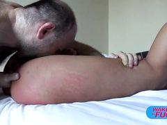 Девушка получила крепкий хуй в жопу на анальной кастинге Вудмана