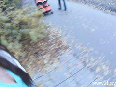 Сексуальная русская девушка повелась на секс с пикапером